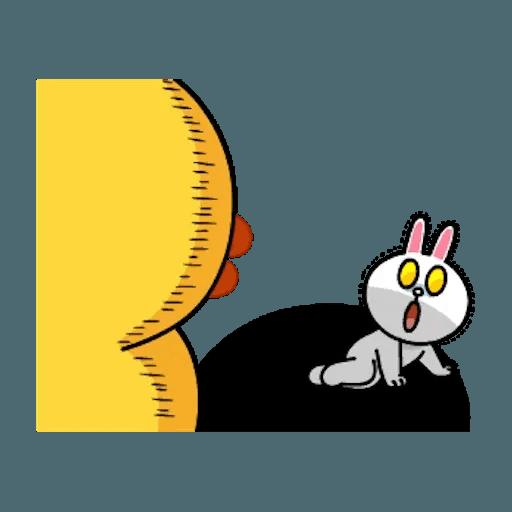 熊大兔兔迷你篇 - Sticker 19
