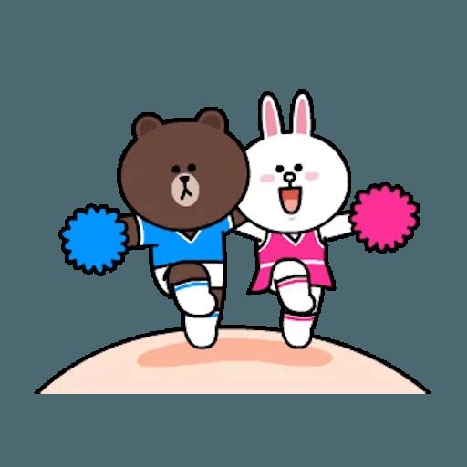熊大兔兔迷你篇 - Sticker 23