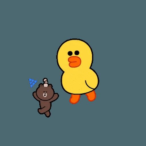 熊大兔兔迷你篇 - Sticker 17
