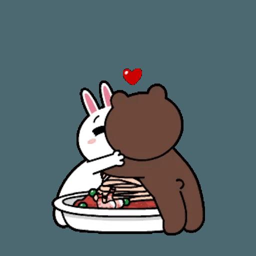 熊大兔兔迷你篇 - Sticker 16