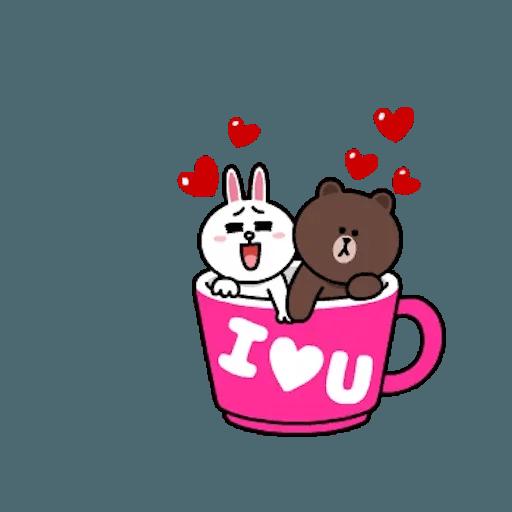 熊大兔兔迷你篇 - Sticker 15