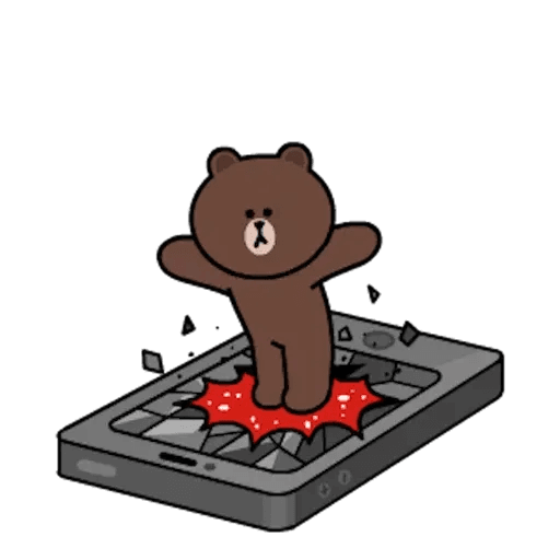 熊大兔兔迷你篇 - Sticker 2