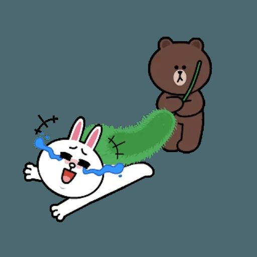 熊大兔兔迷你篇 - Sticker 22