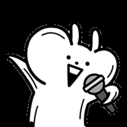 小突兔 - Tray Sticker