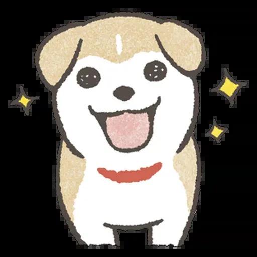 doggo - Tray Sticker