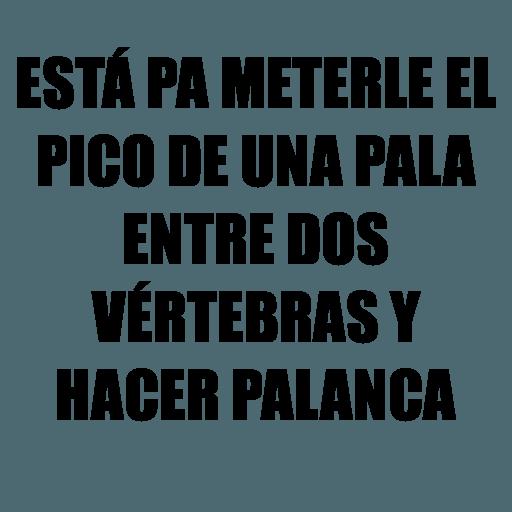 Chaflán - Sticker 12
