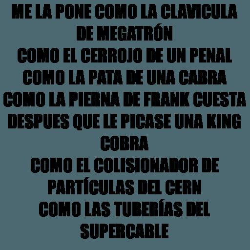 Chaflán - Sticker 21