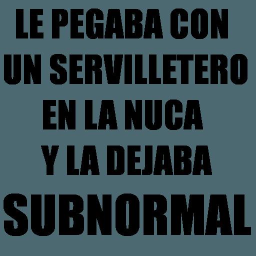 Chaflán - Sticker 24