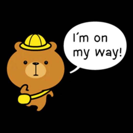 Bear bear Dos - Sticker 24