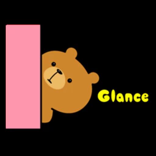Bear bear Dos - Sticker 30