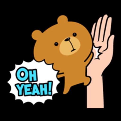 Bear bear Dos - Sticker 11