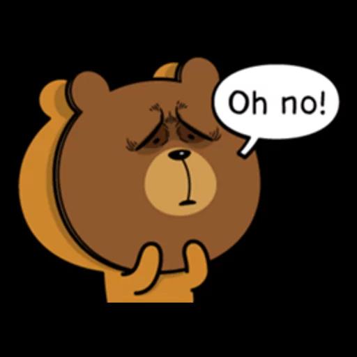 Bear bear Dos - Sticker 15