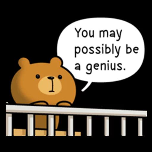 Bear bear Dos - Sticker 20