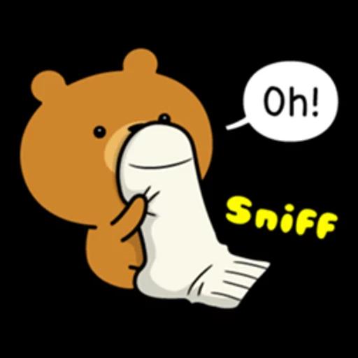Bear bear Dos - Sticker 12