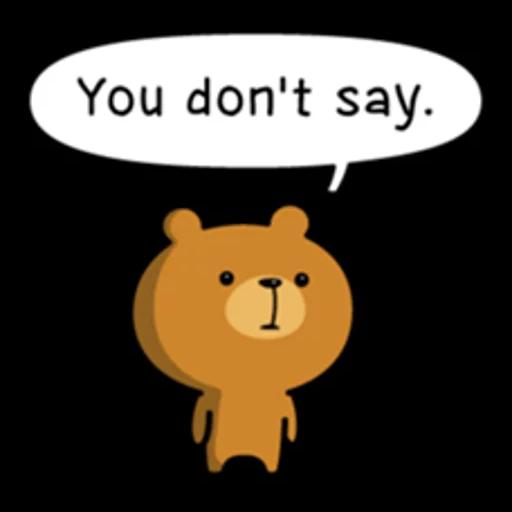 Bear bear Dos - Sticker 18