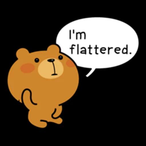 Bear bear Dos - Sticker 10