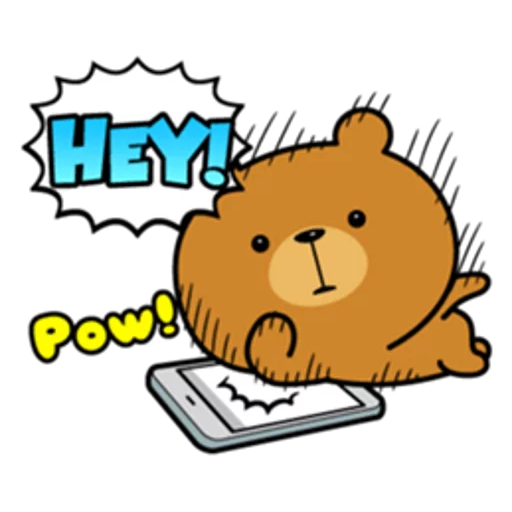 Bear bear Dos - Sticker 3