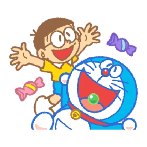 Effect doraemon - Sticker 2