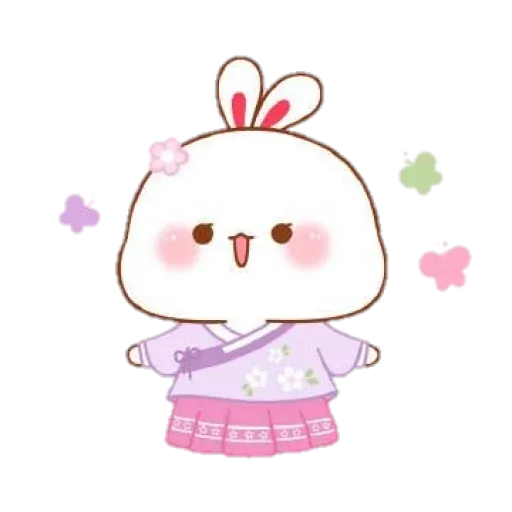 cute rabbit - Sticker 14