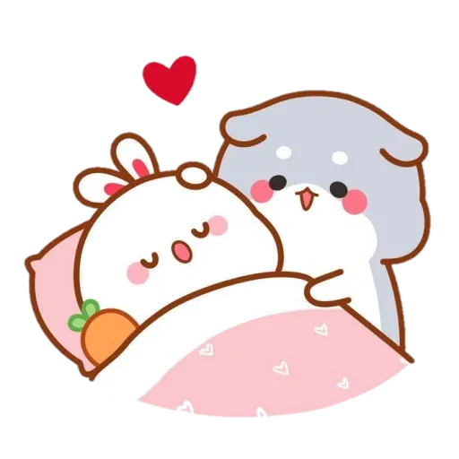 cute rabbit - Sticker 6