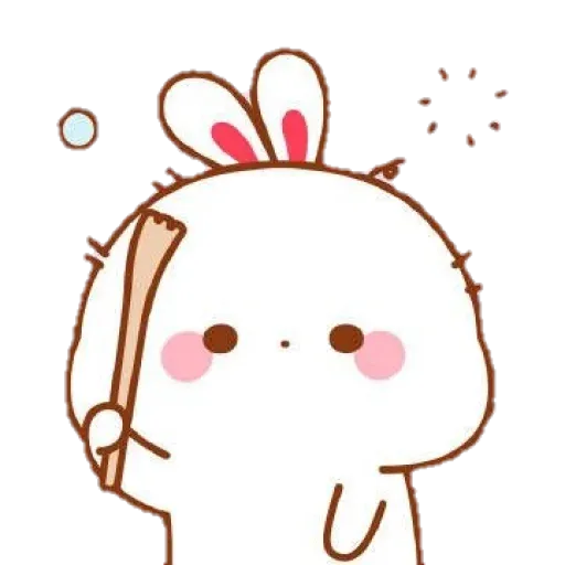 cute rabbit - Sticker 7