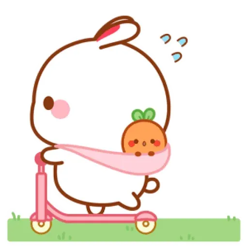 cute rabbit - Sticker 18