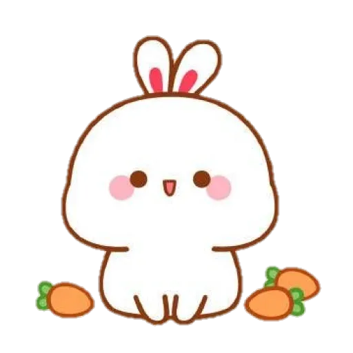 cute rabbit - Sticker 17
