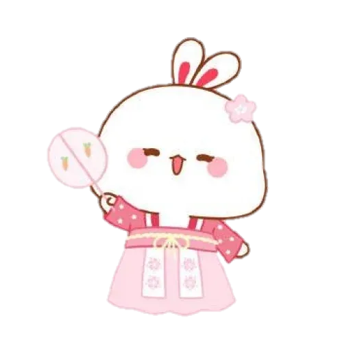 cute rabbit - Sticker 11