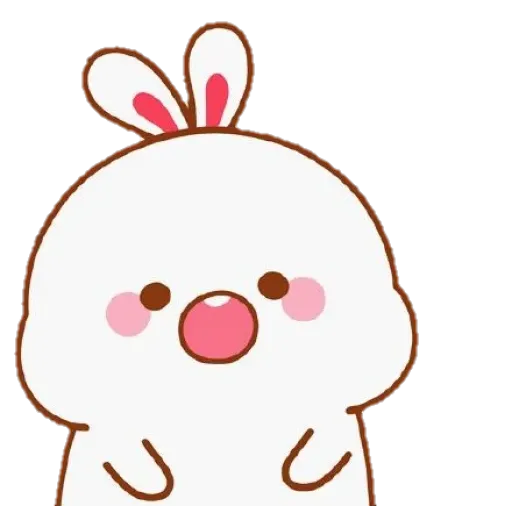 cute rabbit - Sticker 4