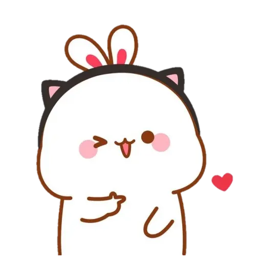 cute rabbit - Sticker 15