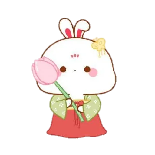 cute rabbit - Sticker 16