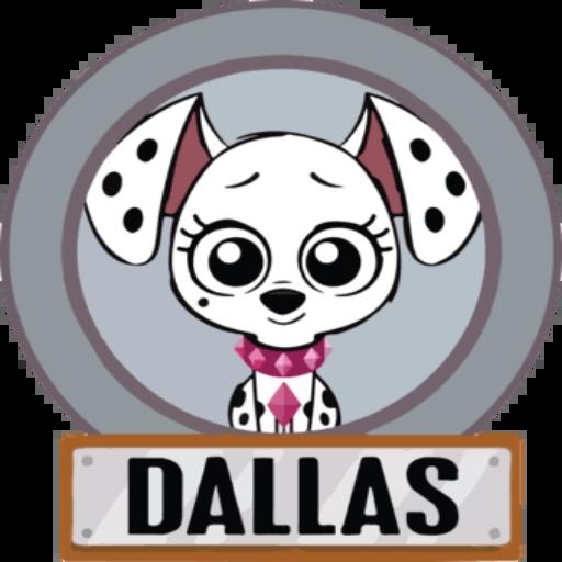 Rua Dálmatas 2 - Sticker 4
