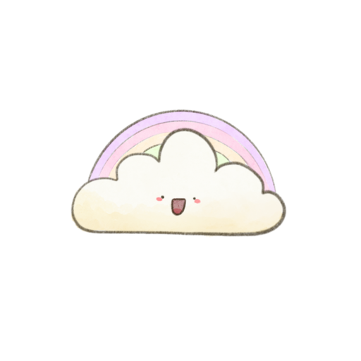 Kawaii Clouds - Sticker 4
