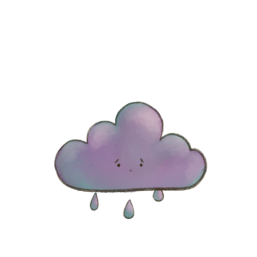 Kawaii Clouds - Sticker 3