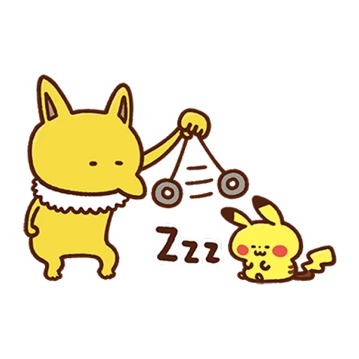 Pokemon Yurutto II - Sticker 20