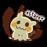 Pokemon Yurutto II - Tray Sticker