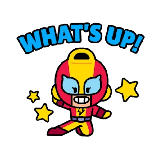 Line Brawl Stars - Sticker 5