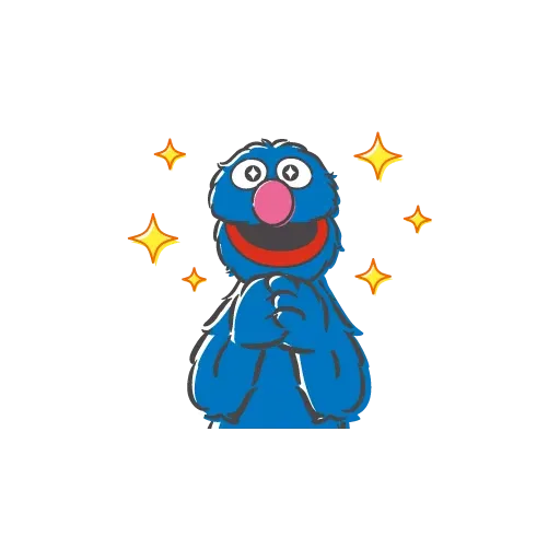 Sesame Street 4 - Sticker 14