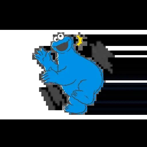 Sesame Street 4 - Sticker 3