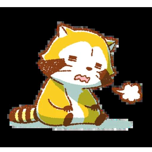 生活小浣熊 - Sticker 19