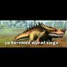 Dinomomos - Tray Sticker