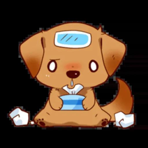 Chibi inu - Sticker 17