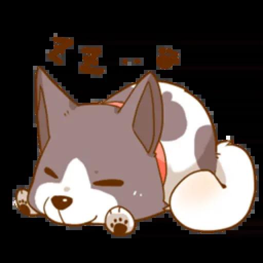 Chibi inu - Sticker 5