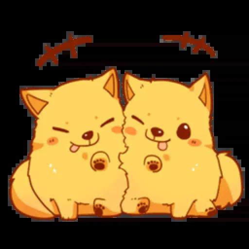 Chibi inu - Sticker 25