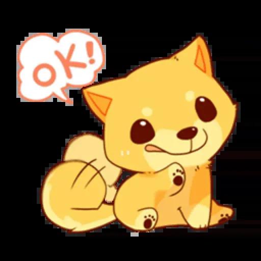 Chibi inu - Sticker 9
