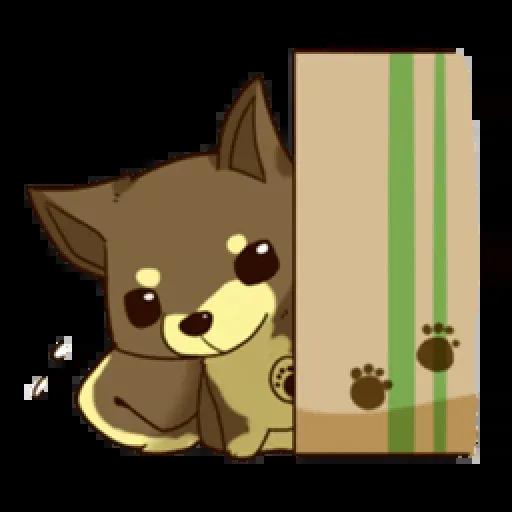 Chibi inu - Sticker 13