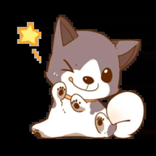 Chibi inu - Sticker 1