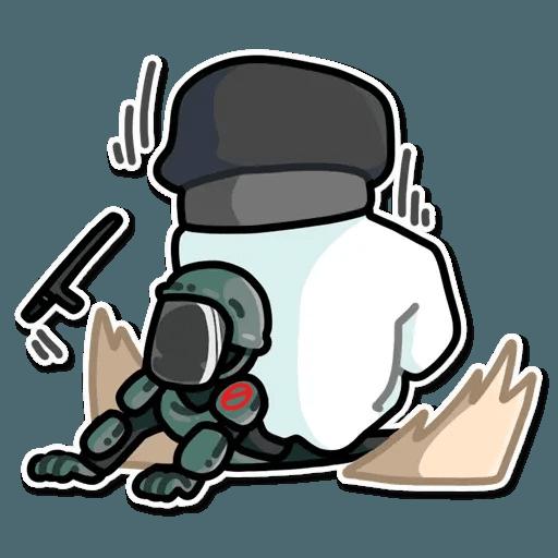 Resistance - Sticker 15