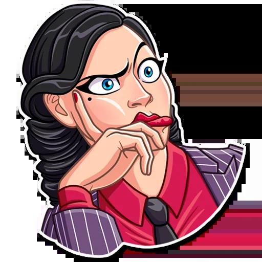 Mafia Girl - Sticker 7