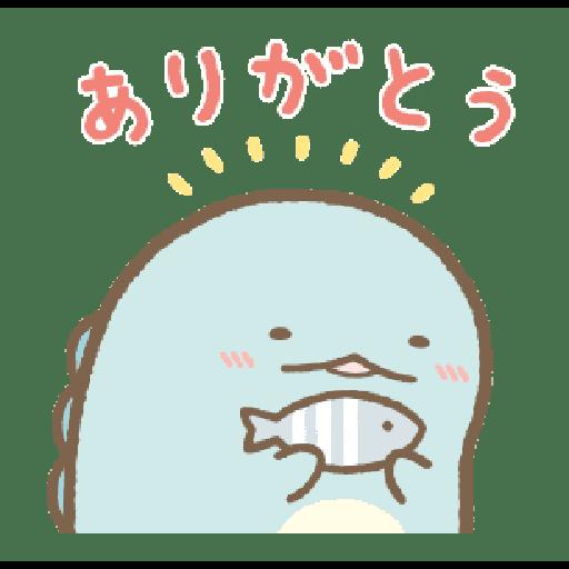 すみっコぐらし かわうそとすみっコ - Sticker 3